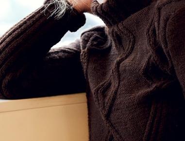 Hand Made braun Sweater